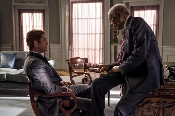 Gerard Butler, Morgan Freeman