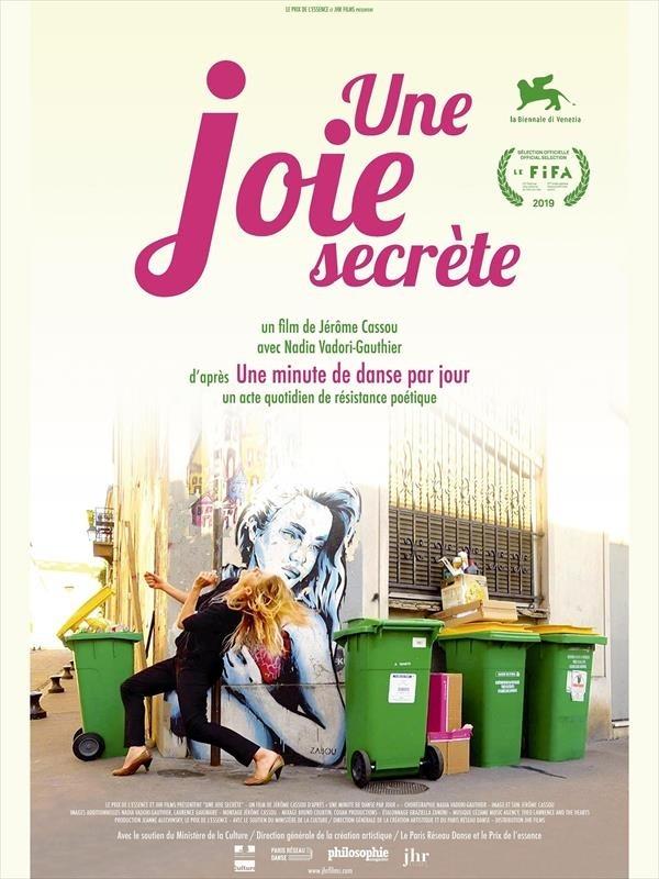 Une joie secrète, affiche