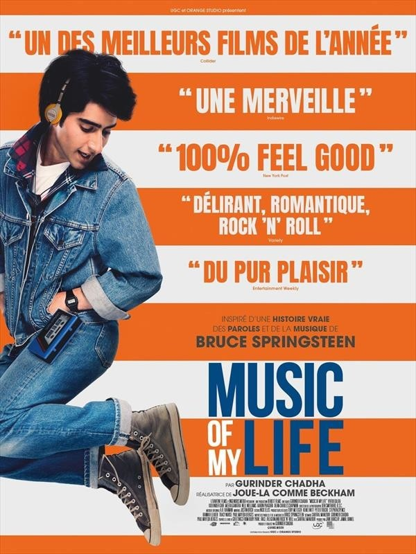 Music of my Life, affiche