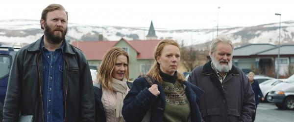 Sveinn Ólafur Gunnarsson, Edda Björg Eyjólfsdóttir, Arndís Hrönn Egilsdóttir, personnage