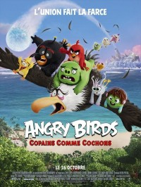 Angry Birds : Copains comme cochons, affiche