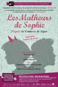 Les Malheurs de Sophie au Théâtre de Verdure du Jardin Shakespeare