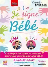 Remi - Chante et signe avec bébé à la Comédie-Bastille