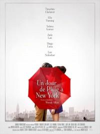 Un jour de pluie à New York, affiche