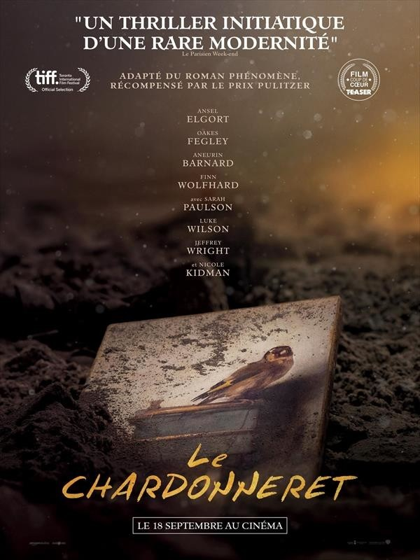 Le Chardonneret, affiche