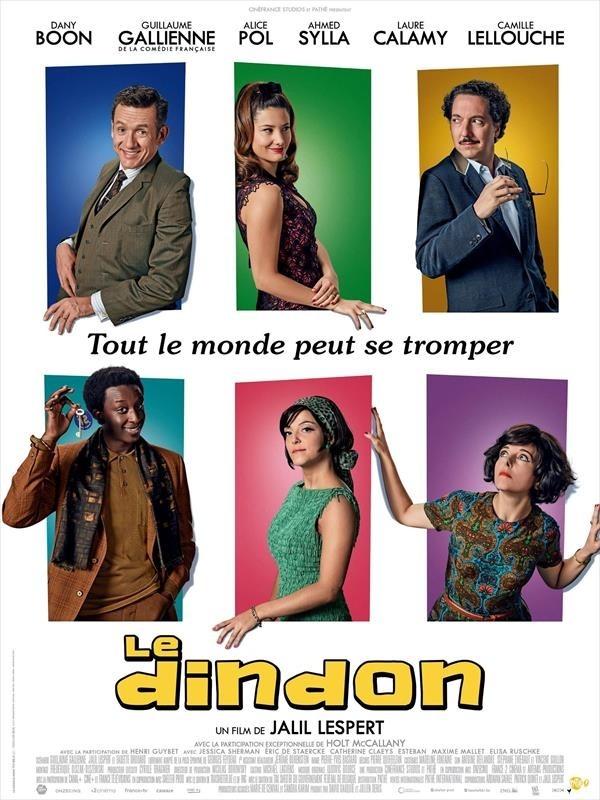 Le Dindon, affiche