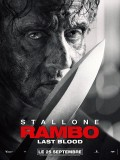 Rambo : Last Blood, affiche
