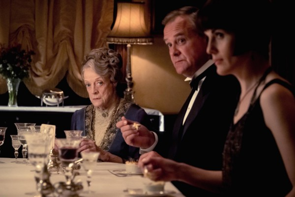 Maggie Smith, Hugh Bonneville, Laura Carmichael
