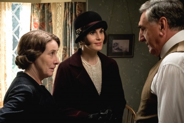 Phyllis Logan, Michelle Dockery, Jim Carter