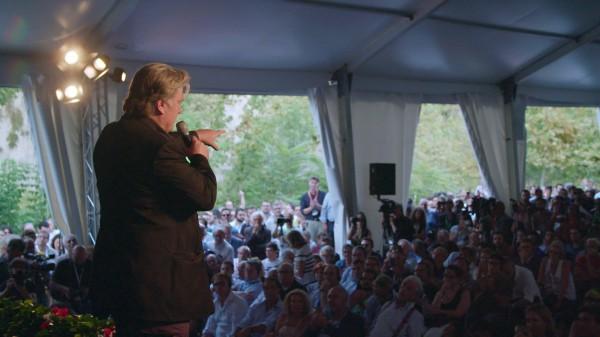 Steve Bannon lors d'un rassemblement