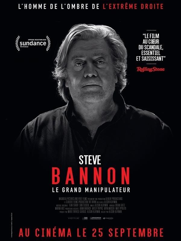 Steve Bannon : Le Grand Manipulateur, affiche