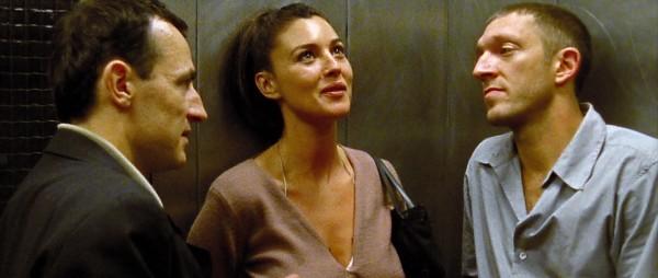Albert Dupontel (Pierre), Monica Bellucci (Alex), Vincent Cassel (Marcus)