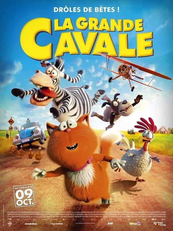 La Grande Cavale, affiche