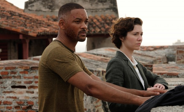 Will Smith (Henry), Mary Elizabeth Winstead (Danny)