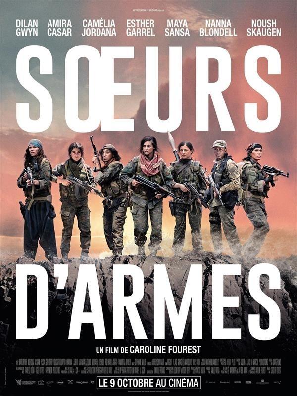 Sœurs d'armes, affiche