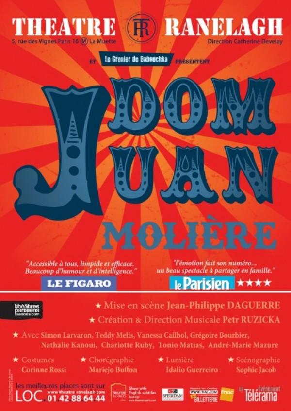 Dom Juan au Théâtre Ranelagh