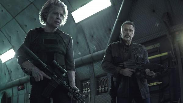 Linda Hamilton, Arnold Schwarzenegger