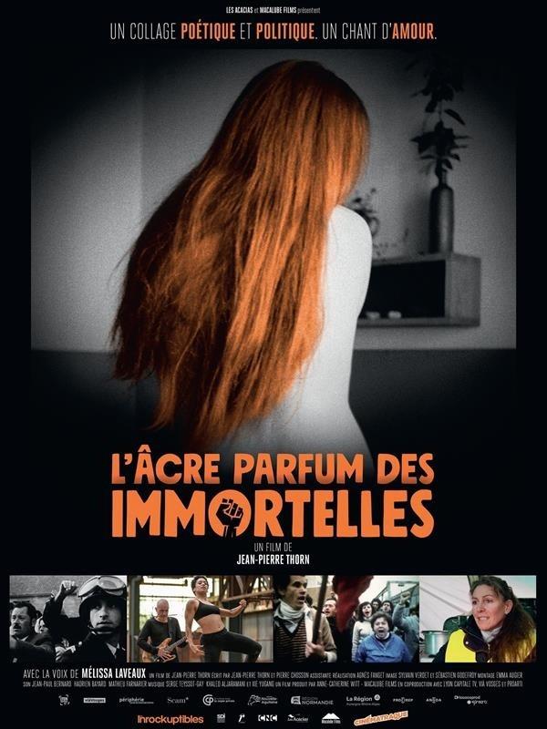 L'Âcre Parfum des immortelles, affiche