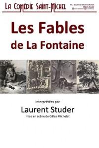 Les Fables de La Fontaine, l'harmonie cachée à la Comédie Saint-Michel