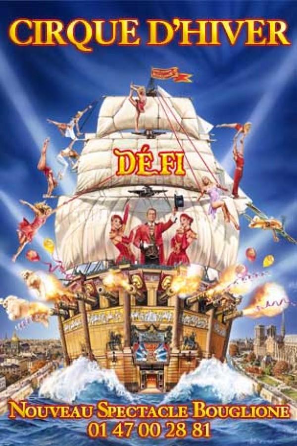 Cirque d'Hiver Bouglione : Défi - Affiche