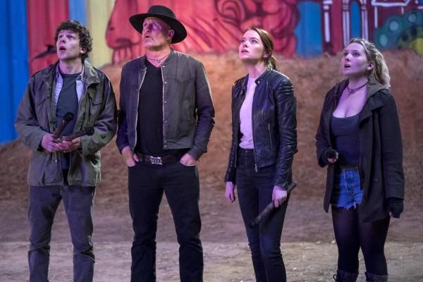 Jesse Eisenberg, Woody Harrelson, Emma Stone, Abigail Breslin