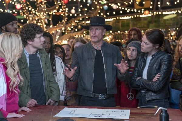 Zoey Deutch, Jesse Eisenberg, Woody Harrelson, personnage, Emma Stone