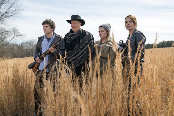 Jesse Eisenberg, Woody Harrelson, Abigail Breslin, Emma Stone