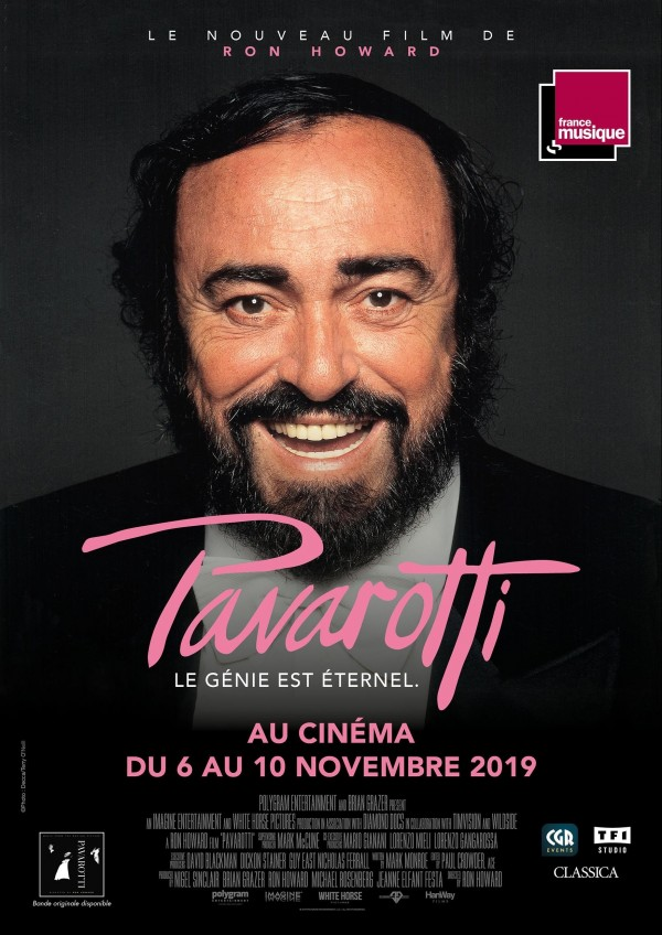 Pavarotti, affiche
