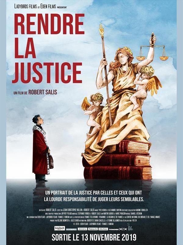 Rendre la justice, affiche