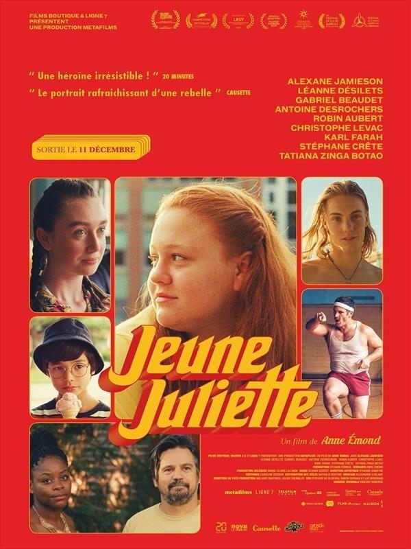 Jeune Juliette, affiche