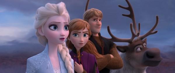 Elsa, Anna, Kristoff, Sven