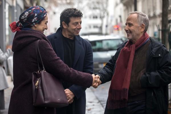 Zineb Triki, Patrick Bruel, Fabrice Luchini