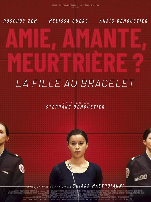 La Fille au bracelet, affiche