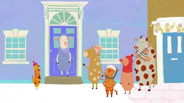 Pirouette et le sapin de Noël de Katerina Vykhodseva