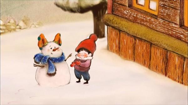 Lapin des neiges de  Lee Ruby et Yi Hyeon-jin