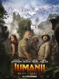 Jumanji : Next Level, affiche