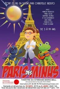 Paris des Minus au Théâtre du Gymnase