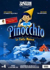 Pinocchio au Théâtre de Paris