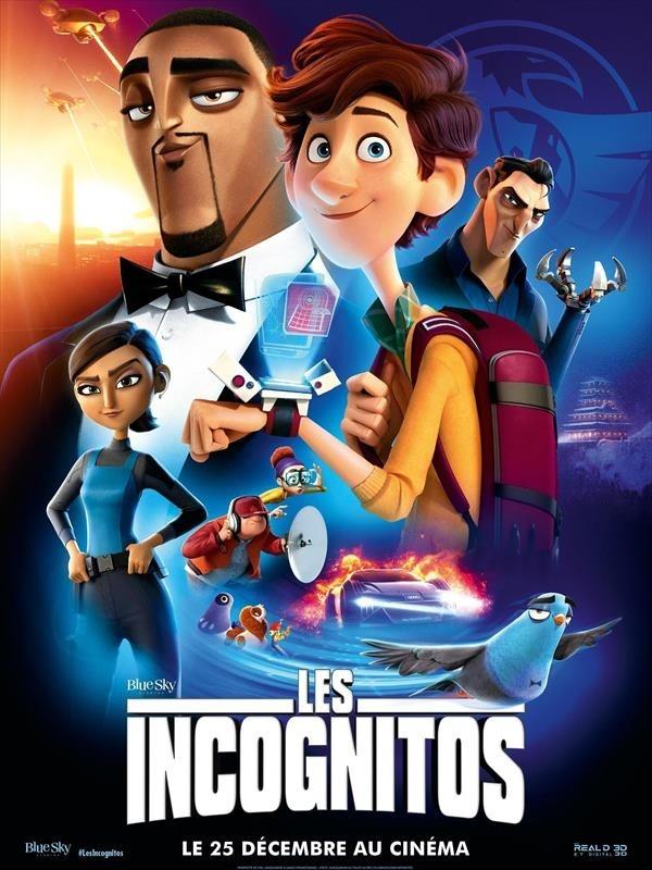 Les Incognitos, affiche