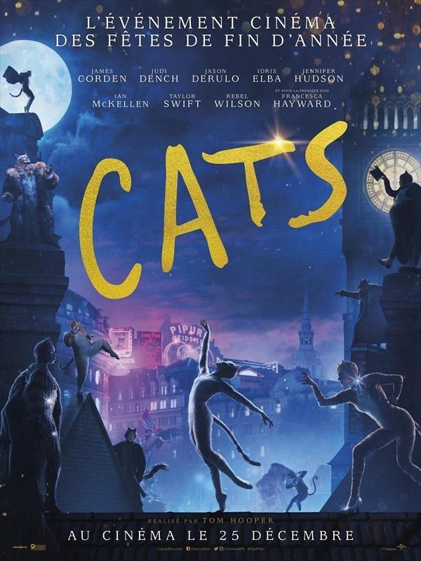 Cats, affiche