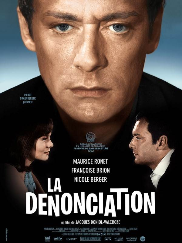 La Dénonciation, Affiche version restaurée