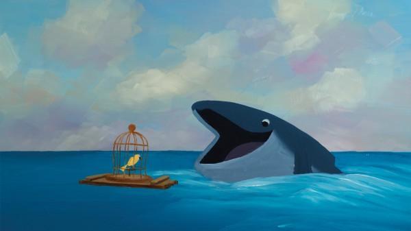 « L'Oiseau et la Baleine », de Carol Freeman