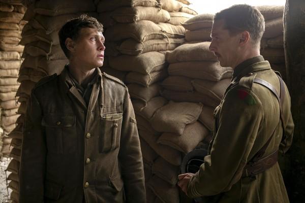 George MacKay, Benedict Cumberbatch