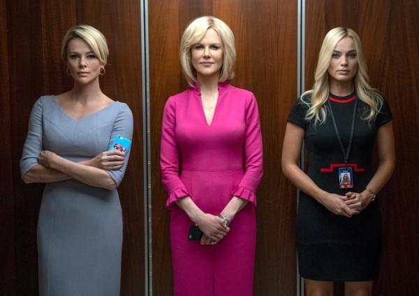 Charlize Theron, Nicole Kidman, Margot Robbie