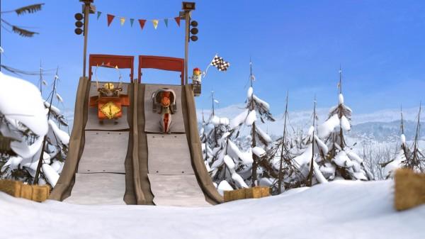 La Bataille géante de boules de neige 2 : L'Incroyable Course de luge, extrait
