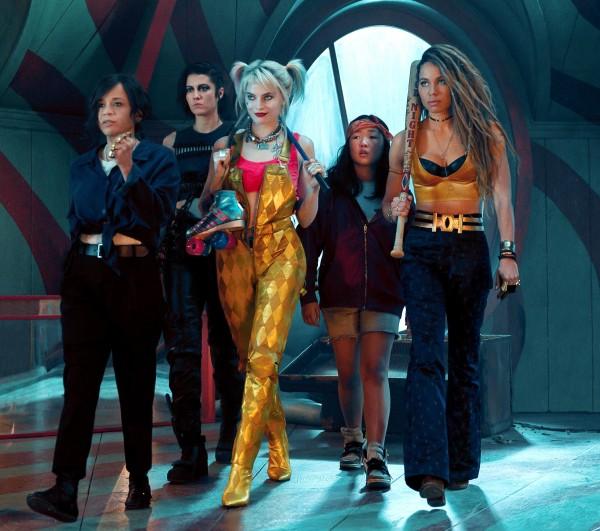 Rosie Perez, Mary Elizabeth Winstead, Margot Robbie, Ella Jay Basco, Jurnee Smollet-Bell