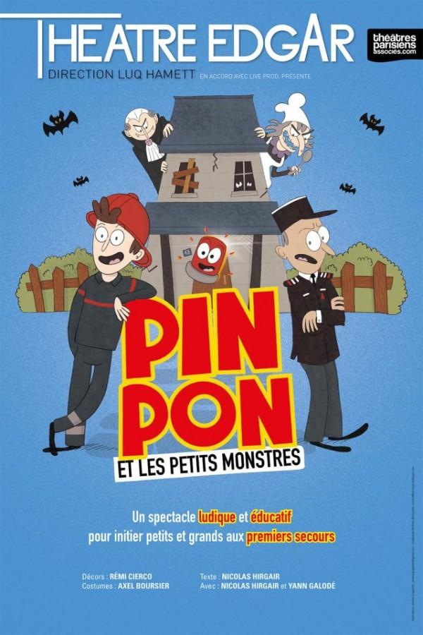 Pin, Pon et les petits monstres au Théâtre Edgar