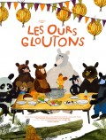 Les Ours gloutons - Affiche