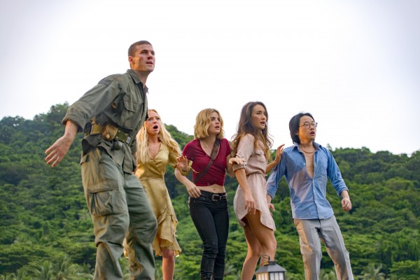 Austin Stowell, Portia Doubleday, Lucy Hale, Maggie Q, Jimmy O. Yang
