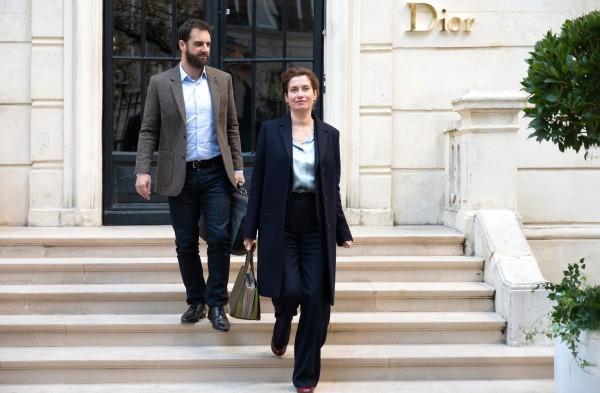 Grégory Montel (Guillaume Favre), Emmanuelle Devos (Anne Walberg)